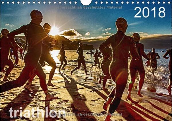 Triathlon Wandkalender