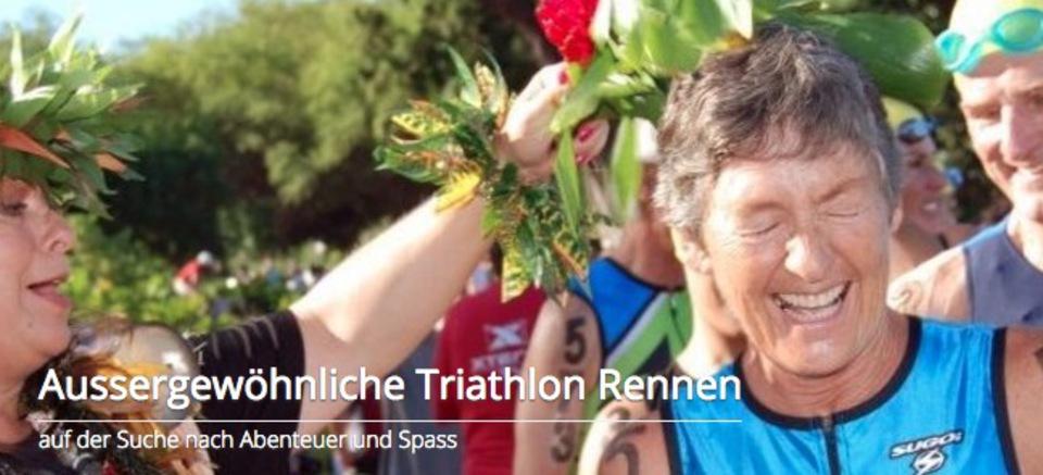 Triathlon Rennen